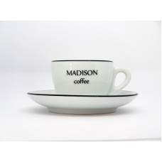 CUSTOM MADISON COMPETITION CUP  with SAUCER PALERMO CC 150 by ANCAP ITALY