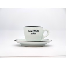 CUSTOM MADISON ESPRESSO CUP  with SAUCER VERONA CC 75 by ANCAP ITALY