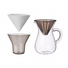 KINTO - 04 CC PL COFFEE CARAFE SET 600ML PLASTIC